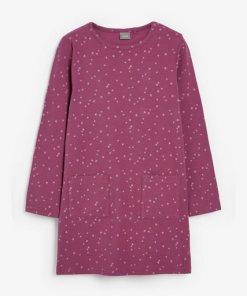 Next Langärmeliges Kleid lila