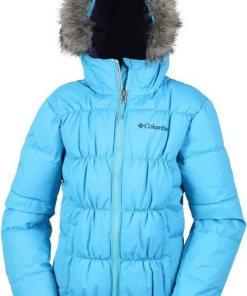 Columbia Outdoorjacke »Gyroslope Jacket Kinder« blau