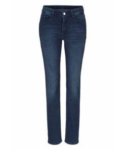 MAC Stretch-Jeans 'Angela Pipe Smart' blue denim