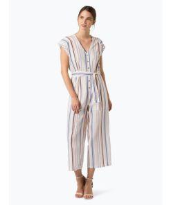 Pepe Jeans Damen Jumpsuit mit Leinen-Anteil - Querina mehrfarbig