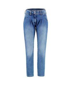 Deerberg Damen Stretch Jeans Esme blue used - auch in Übergrößen