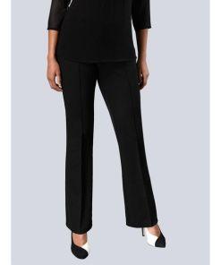 Alba Moda, Hose in super softer Stretch-Qualität, schwarz
