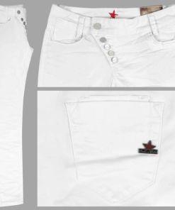 Buena Vista Jeans Kim Stretch Twill white