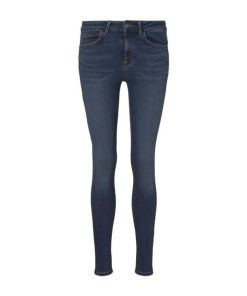 TOM TAILOR DENIM Damen Nela Extra Skinny Jeans , blau, Gr.32/32