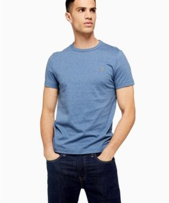 BLAUFarah 'Dennis' T-Shirt mit kurzen Ärmeln*, BLAU