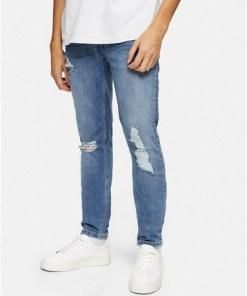 BLAUConsidered Stretch Skinny Jeans aus Biobaumwolle, BLAU