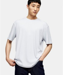 T-Shirt aus Twill mit Raglanärmeln, grau, GRAU