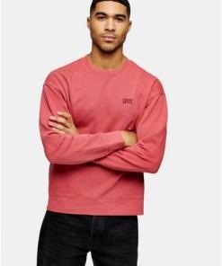 Levi's T-Shirt mit authentischem Design und Logo, rot, ROT