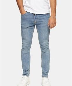 Levi's 519 Skinny Jeans, blau, BLAU