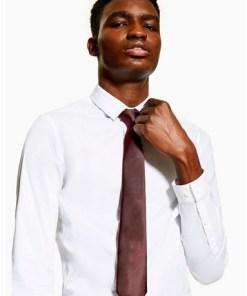 Krawatte, weinrot, ROT
