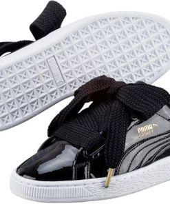 PUMA Sneaker Basket Heart Patent
