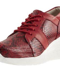 Heine Keilsneaker, rot