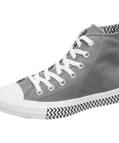Converse Sneaker Chuck Taylor All Star Leather & Chevron 70 Hi
