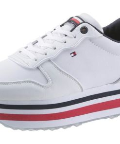 TOMMY HILFIGER Plateausneaker PIPED FLATFORM SNEAKER