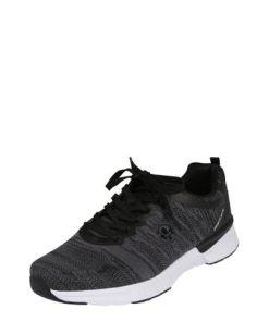 RIEKER Sneaker grau / schwarz