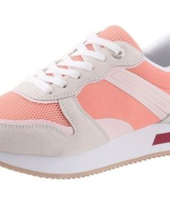 TOMMY HILFIGER Sneaker 'Annie' rosa / offwhite / koralle