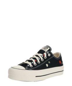 CONVERSE Sneaker 'CHUCK TAYLOR ALL STAR LIFT - OX' weiß / schwarz