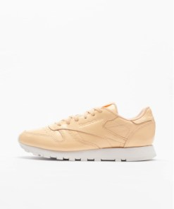 Reebok Frauen Sneaker Leather Patent in beige