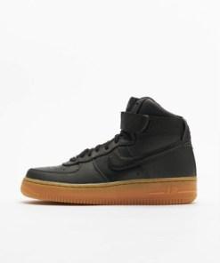 Nike Frauen Sneaker Air Force 1 Hi Se in schwarz
