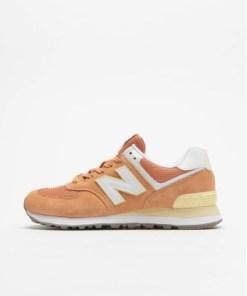 New Balance Frauen Sneaker WL574 in orange