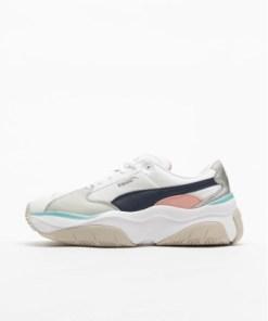 Puma Frauen Sneaker Storm.y Metallic in weiß