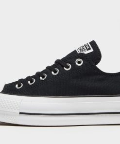 Converse Chuck Taylor All Star Lift Canvas Damen - Schwarz - Womens, Schwarz