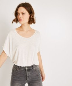 T-Shirt mit Glanzeffekt T-Shir