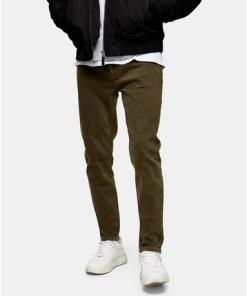 Skinny Jeans, khaki, KHAKI