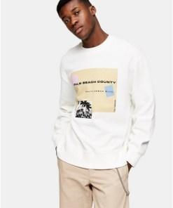 'Country Beach' Sweatshirt, cremeweiß, WEIß