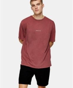'Berlin' T-Shirt, weinrot, ROT