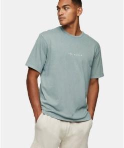 T-Shirt mit Print, khaki, KHAKI