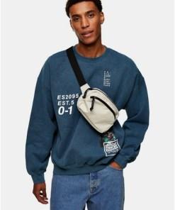Sweatshirt mit 'Error'-Schriftzug, khaki, KHAKI