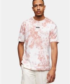 Good For Nothing T-Shirt mit mittigem, gummiertem Logo, pink, PINK
