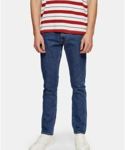 LEE Slim Jeans in Karottenpassform, blau, BLAU
