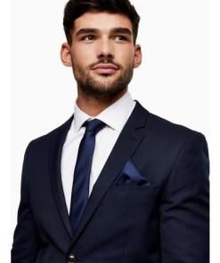 NAVY BLAUStrukturierte Krawatte, navyblau, NAVY BLAU