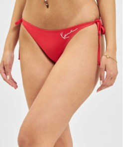 Karl Kani Frauen Bikinis Signature Triangle in rot