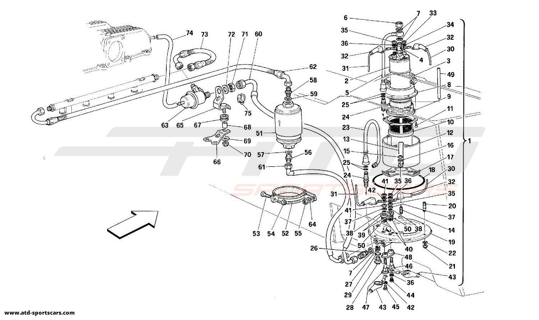 Ferrari 348 Air Intake