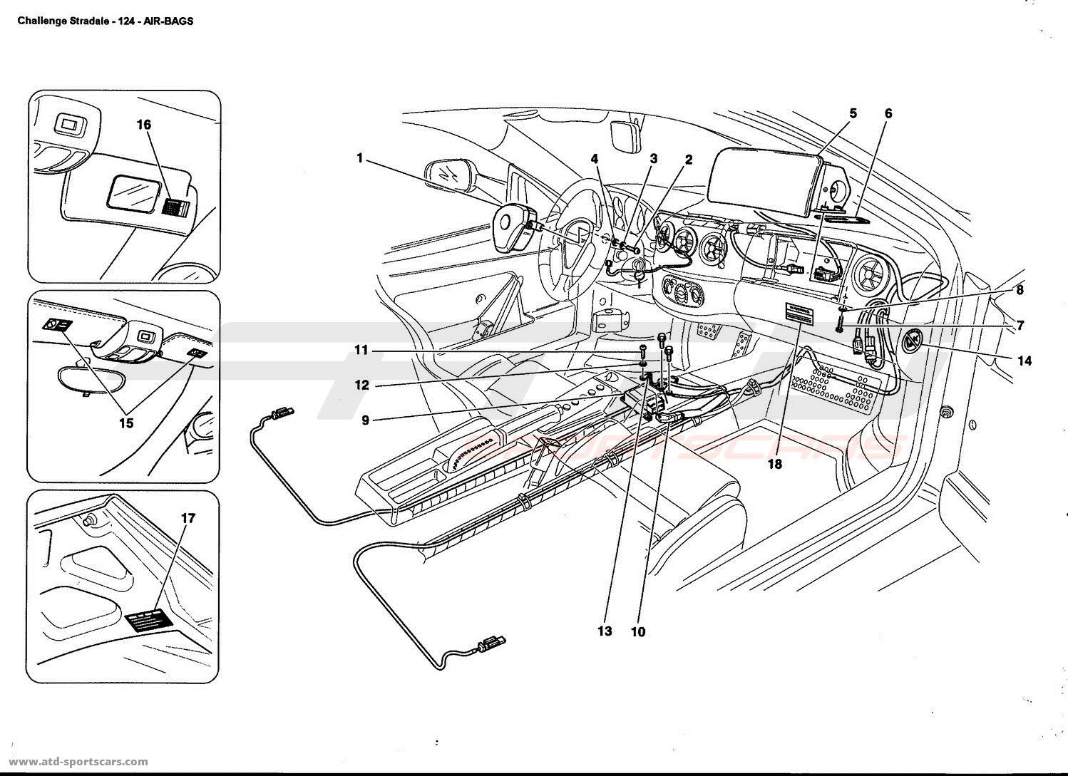 Ferrari 360 Challenge Stradale Interior Parts At Atd