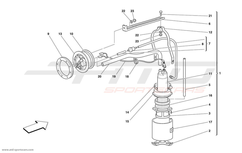 Ferrari 456 M Gt Gta Air Intake