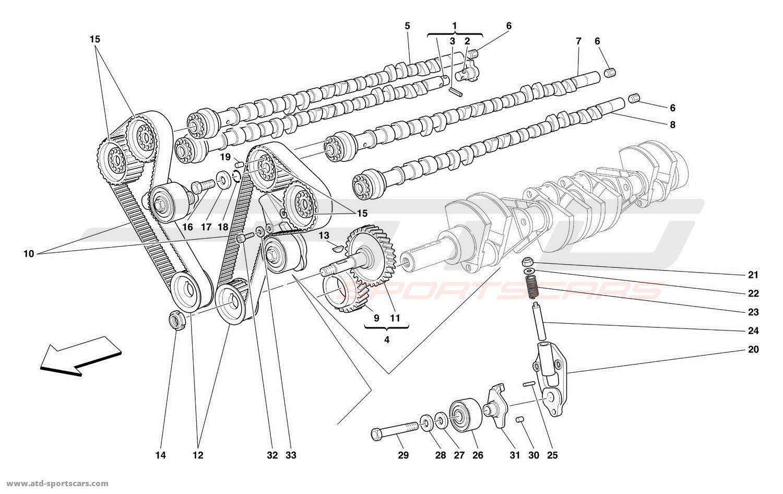 Ferrari 456 M Gt Gta Engine Parts At Atd Sportscars