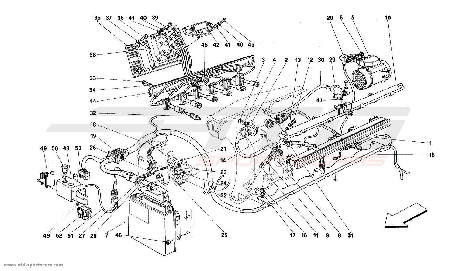 Ferrari 512m Engine Parts At Atd Sportscars