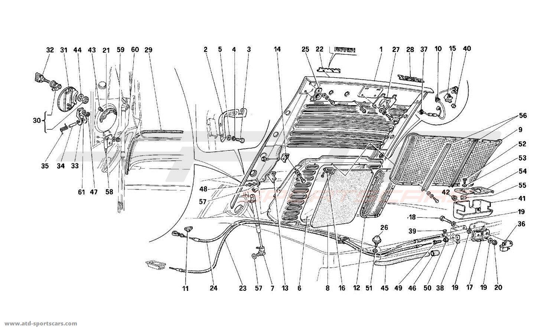 Ferrari 512 M Body Parts At Atd Sportscars