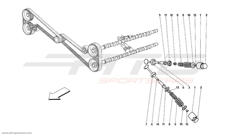 Ferrari 512m Engine Parts At Atd Sportscars