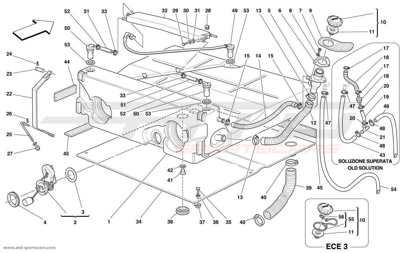 Ferrari 550 Maranello Air Intake