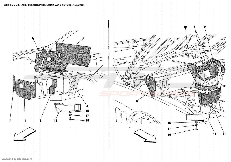 Engine Compartment Diagram
