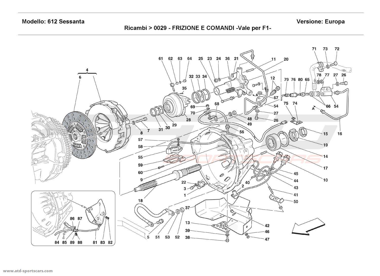 Ferrari 612 Sessanta Ersatzteilkatalog