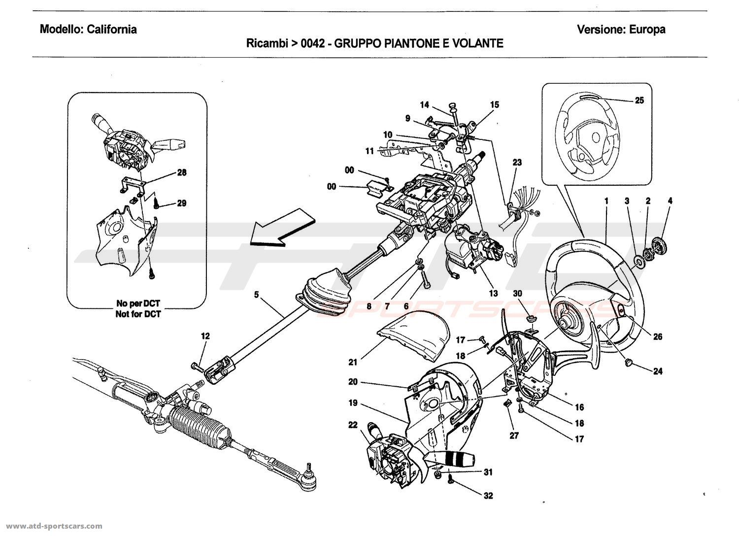 Corvette Steering Column