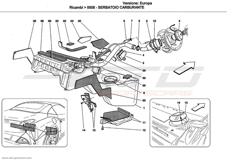 Ferrari California Air Intake