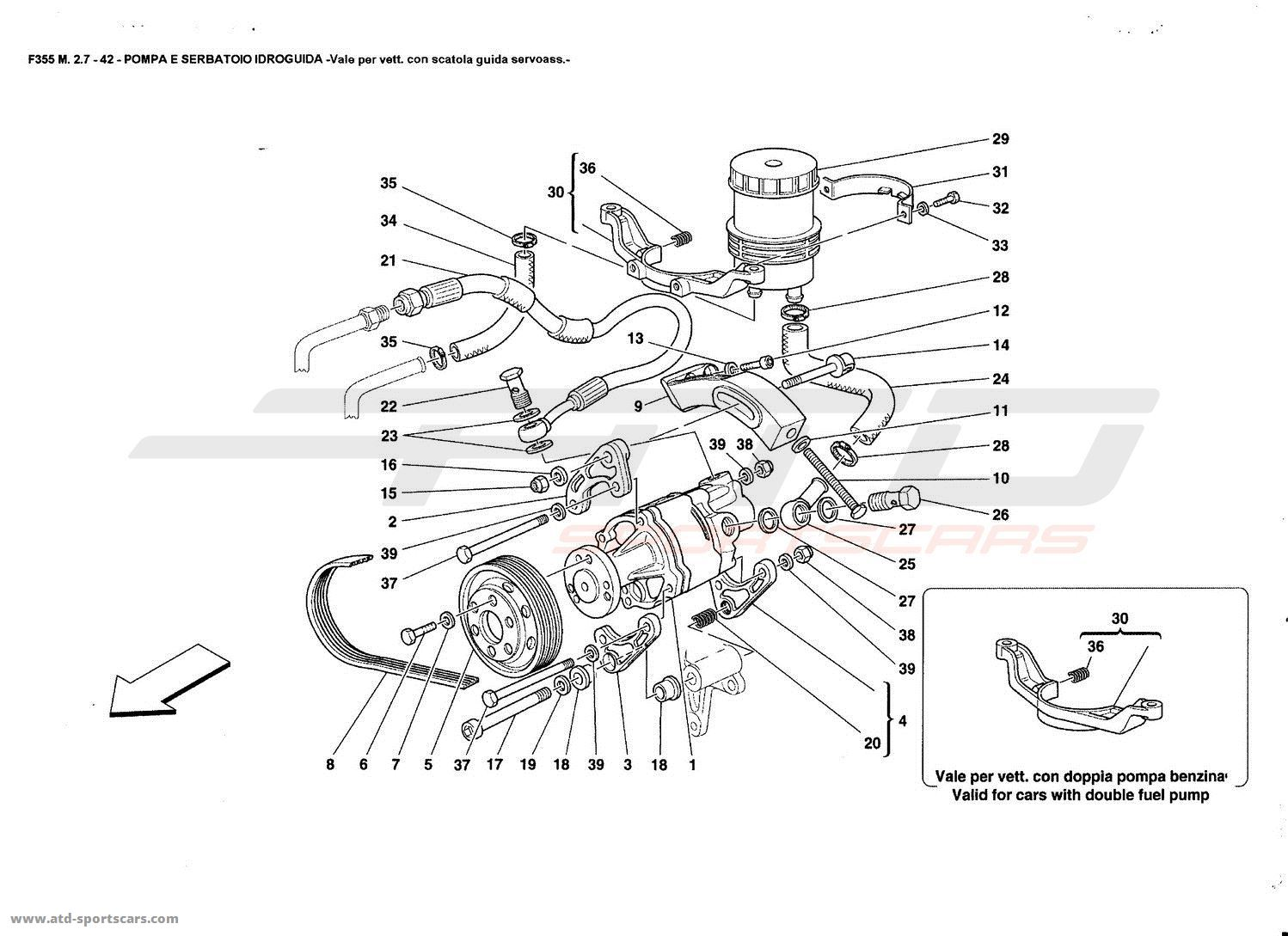 Ferrari F355 2 7 Undercarriage Parts At Atd Sportscars