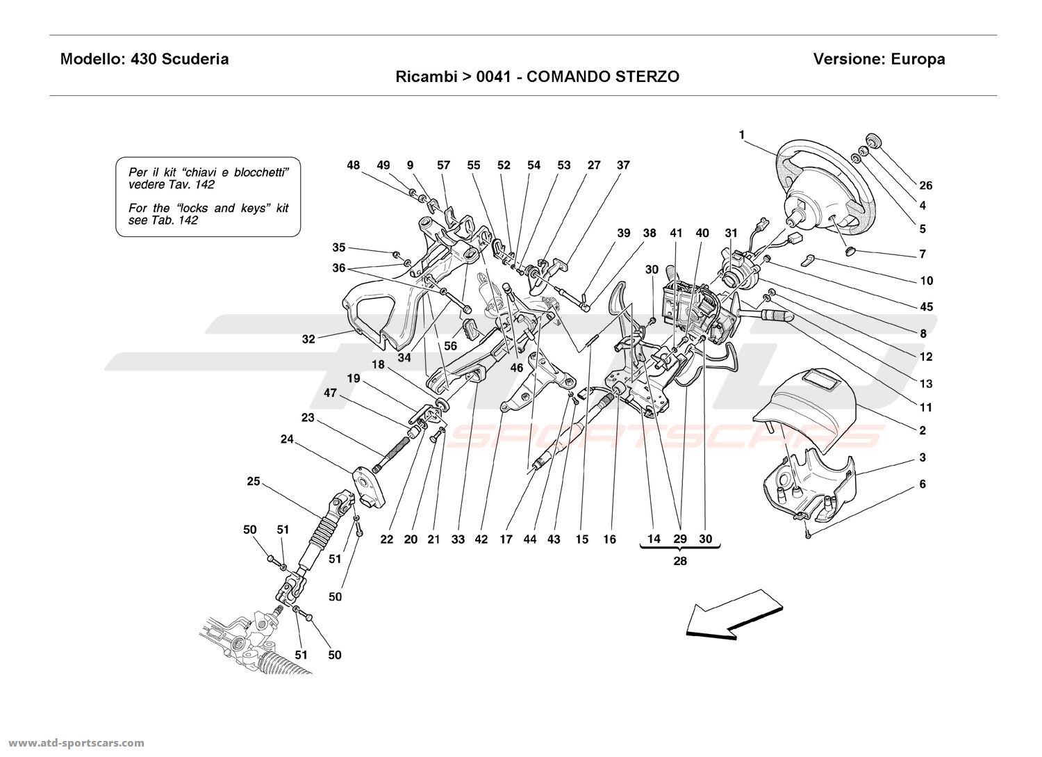 Ferrari F430 Scuderia Undercarriage Parts At Atd